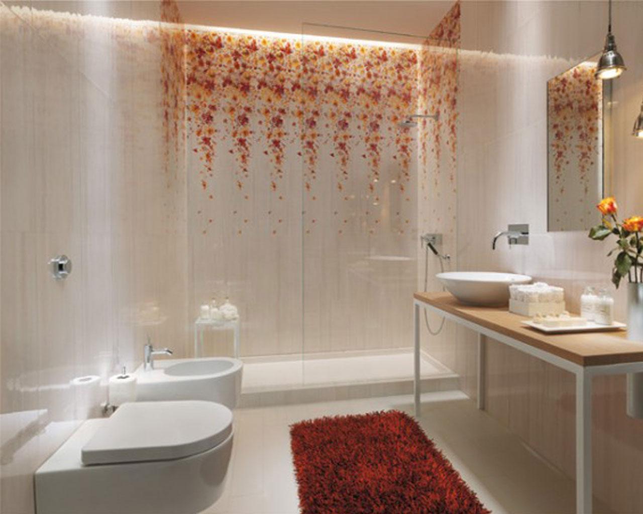 Кафель для ванной комнаты дизайн маленькие