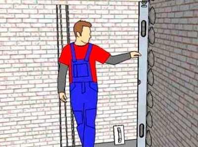 Штукатурка стен по маякам – подготовка и работа