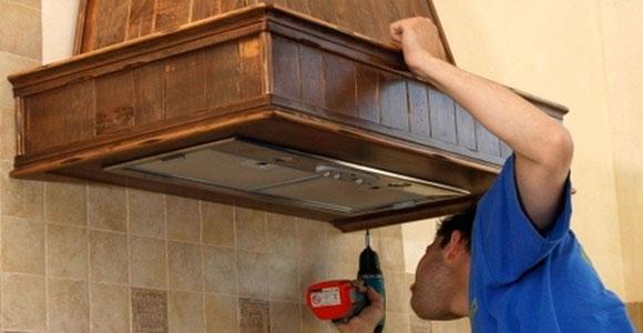 Как установить вытяжку на кухне своими руками фото 73